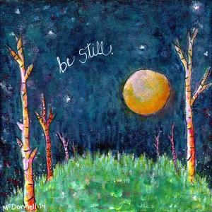 Be Still original painting