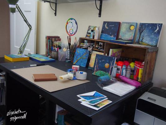 Elizabeth-McDonnell-painting-studio