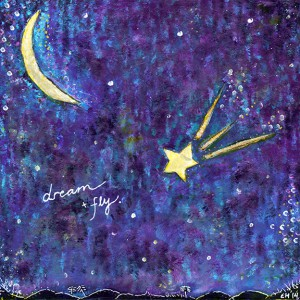 Dream and Fly - original painting by Elizabeth McDonnell
