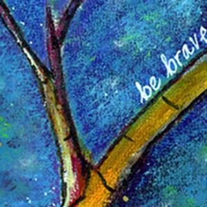 Be Brave detail - Elizabeth McDonnell