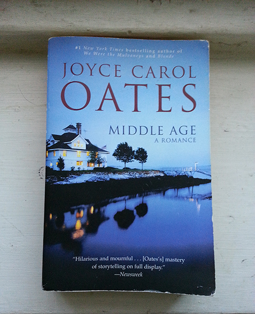 What I'm currently reading. Joyce Carol Oates is my FAVORITE author.