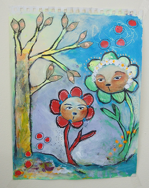 Painting Experiment - Elizabeth McDonnell