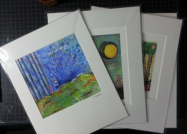 11x14 matted art prints