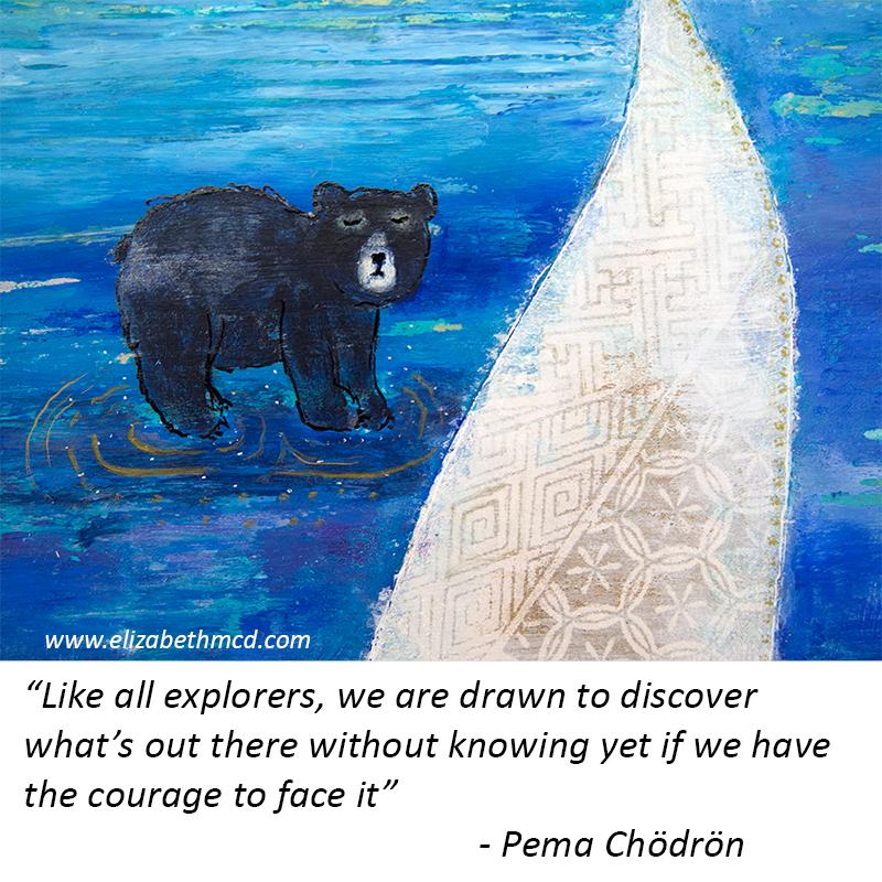 Pema Chodron quote