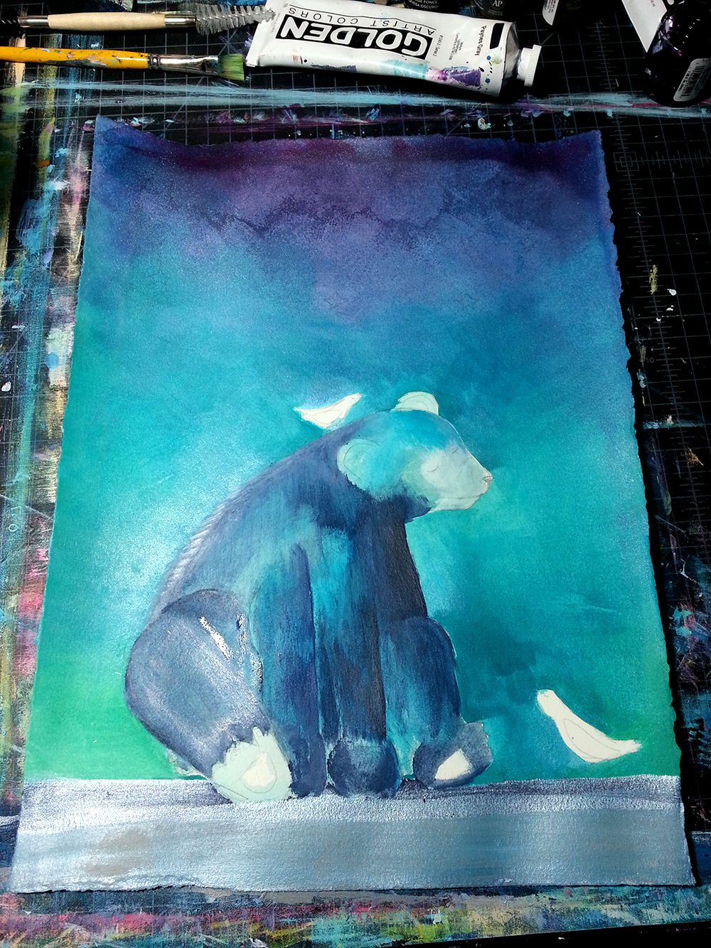 Underlayer bear