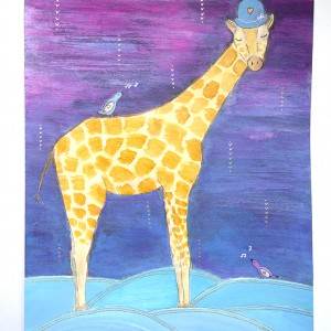 giraffe art elizabeth mcdonnell