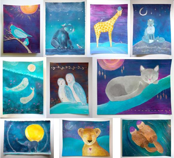 final animal art series